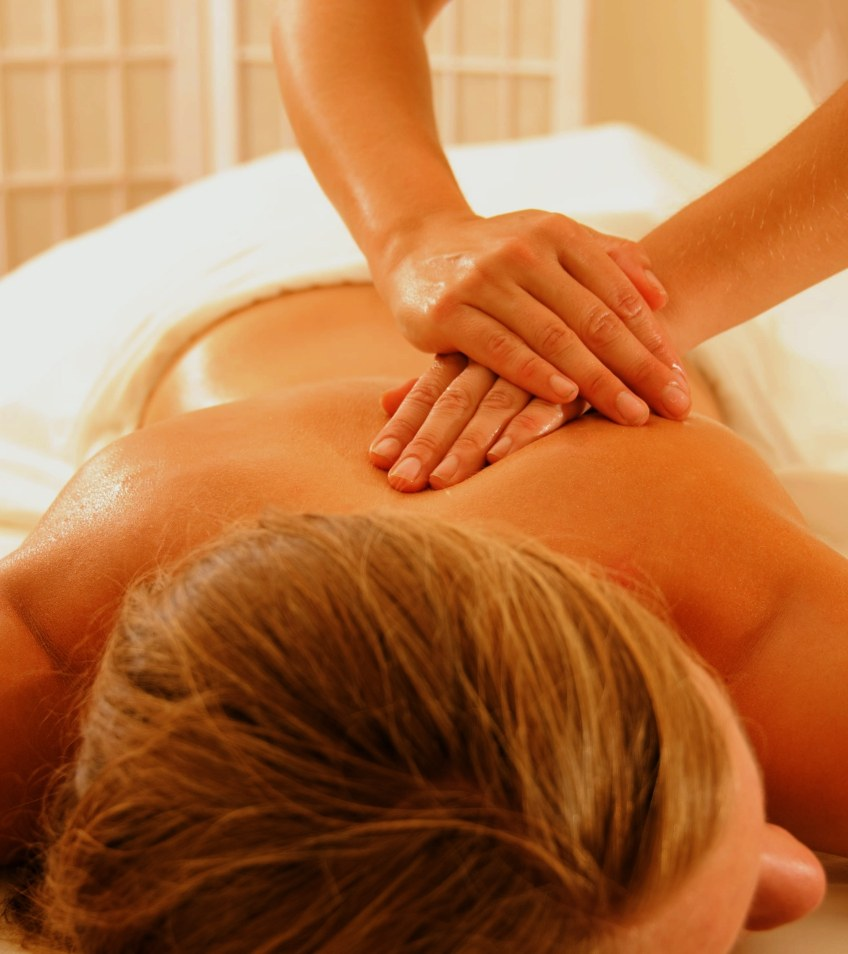 Get intimate with a sensual massage